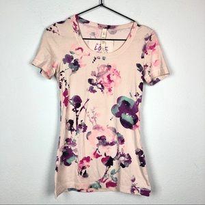 Lululemon Blurred Blossom Short Sleeve Love Tee 4